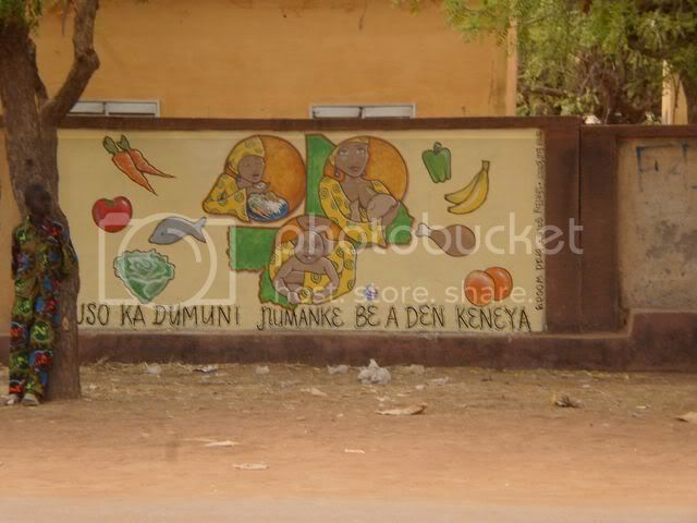 1st Mural completed in San Mali Image
